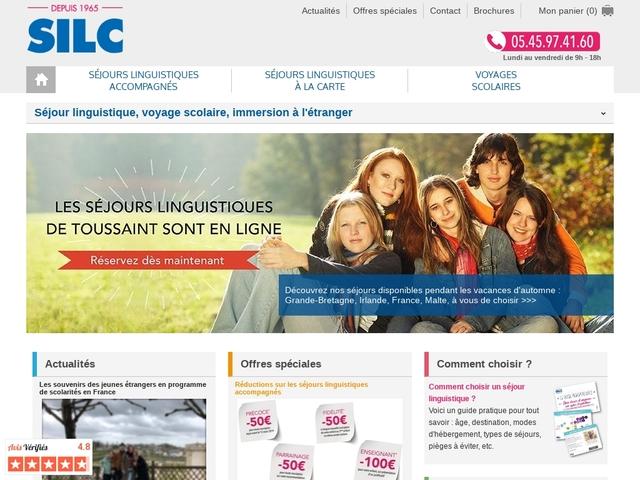 SILC – Séjours Internationaux Linguistiques et Culturels