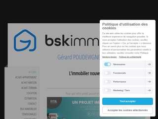GERARD POUDEVIGNE / BSK IMMOBILIER