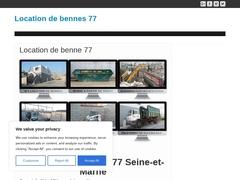 Entreprise de location de benne 77 - Mannuaire.net