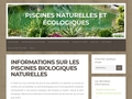 Détails : Piscine écologique & naturelle