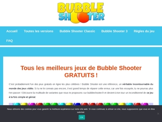 Jeux Bubble Shooter, Gratuit !