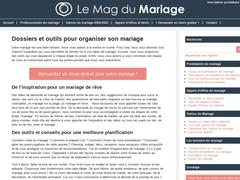 Le site internet pour bien préparer son mariage