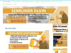 Serrurier Dijon disponible 24h/24