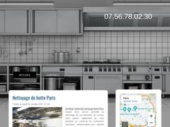Nettoyage hotte paris