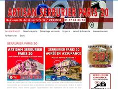 Rénovation Serrure sur Paris 20 - Mannuaire.net
