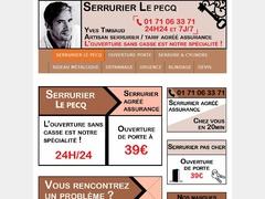Expert en ouverture de porte claquée Le Pecq - Mannuaire.net
