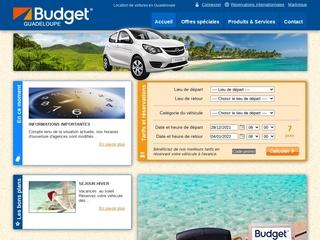 Budget Guadeloupe