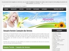 Détails :  Annuaire Feminin