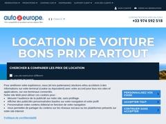 Détails : Location voiture avec Auto Europe