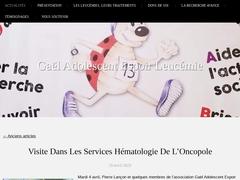 Détails : Gael Adolescent Espoir Leucémie