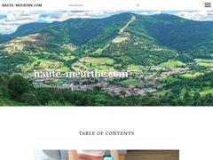Détails : Haute Meurthe