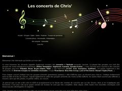 Détails : Les reviews de concerts de Chris'