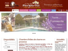 Bed and breakfast Provence Mas des Marguerites