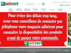 Détails : Univert - la première enseigne spécialisée dans la motoculture de plaisance en France
