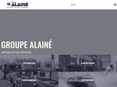 Détails : Groupe Alaine - Logistique - Overseas - Transport