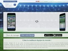Détails : Jeu de foot en ligne - Virtuafoot Manager