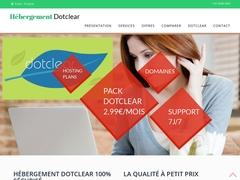 Hébergement Dotclear Mutualisé