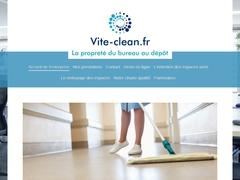 société de nettoyage à Montpellier vite-clean