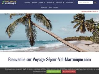Voyage séjour vol Martinique