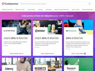 CodePromo : Bons plans sur les grandes marques