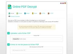 Online PDF Decrypt - Mannuaire.net