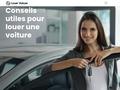 Location de voitures : comparez les offres