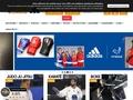 Un site spécialisé dans la vente d'équipements pour sports de combats