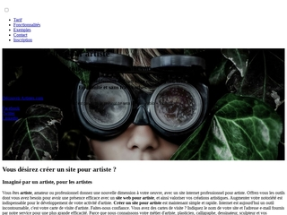 Création de sites web professionnels pour artistes