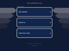Brise vue et gazon synthétique - Mannuaire.net