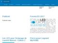 Les LEDs, les OLEDs et l'éclairage