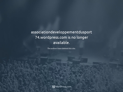 Association de développement du sport 74 - Mannuaire.net