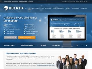 ODENTI : création site internet professionnel, progiciel de gestion