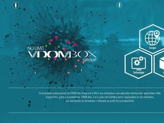 VDOM BOX International - technologie de publication de contenu simplifié et Serveur tout en un