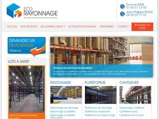 Le rangement: dans un hangar, un entrepôt ou un magasin.