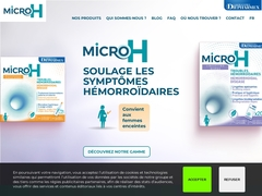 Micro H : Traitement anti hémorroïde