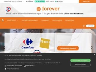 Forever : numérisation, transfert sur DVD
