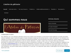 L'atelier du patissier - Mannuaire.net