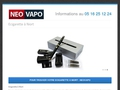 Neovapo, le spécialiste de l'e-cigarette ouvre une nouvelle boutique à Niort