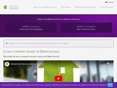 Green Isobloc: bloc coffrant isolant - Mannuaire.net