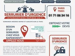 Serrurier D astreinte Paris 1 - Mannuaire.net