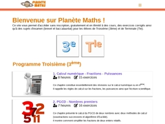 Planète Maths