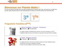 Planète Maths - Mannuaire.net