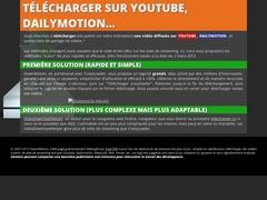 Détails : Télécharger les vidéos de Dailymotion, Youtube...
