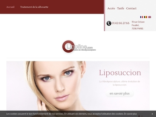 Lipolyse laser, liposculpture, liposussion