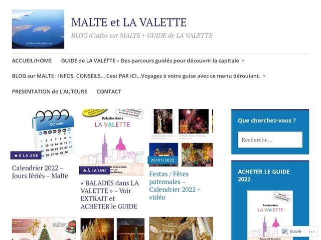 Malte et La Valette