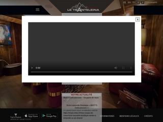 Tsanteleina, le confort d'un hôtel 4 étoiles à Val d'Isère