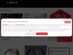 Le Cycle Online magazine n°1 des pratiquants.Cycle essais dossier annuaire du velo