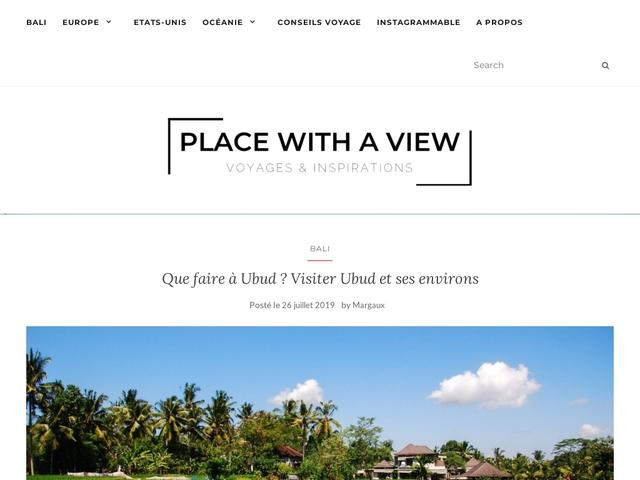 Place with a view : le blog voyages et escapades de Margaux