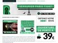 Ouverture de porte en cas de clés perdus sur Paris 7