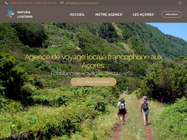 Natura Lusitana : Randonnée et voyages découverte aux Açores